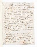 [Lettre de Pauline Viardot à Monsieur Gilbert Duprez, (sans date)] (manuscrit autographe)