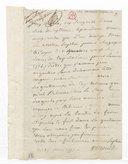 [Lettre autographe signée de Sophie Arnould à Alleaume, 17 juin 1777] (manuscrit autographe)
