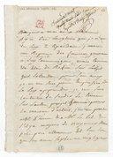 [Lettre autographe signée de Sophie Arnould à Alleaume, 30 juillet 1777] (manuscrit autographe)