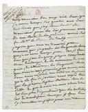 [Lettre autographe signée de Sophie Arnould à Alleaume, 12 décembre 1776] (manuscrit autographe)