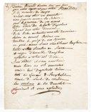 Divine Arnould ravisses tous nos yeux (manuscrit autographe)