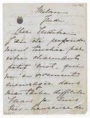[3 lettres de Lina Cavalieri à Jules Massenet, [entre 1902 et 1912]] (manuscrit autographe)