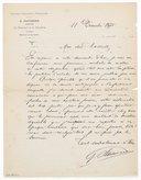 [Lettre de Georges Hartmann à Jules Massenet, 1875] (manuscrit autographe)