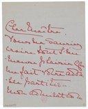 [2 lettres d'Alice de Monaco à Jules Massenet, 1901-[1902]] (manuscrit autographe)