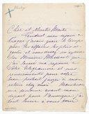 [Lettre de Marguerite Giraud à Jules Massenet, non datée] (photocopie)