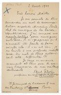 [Lettre de Paul Gilson à Jules Massenet, 1901] (manuscrit autographe)