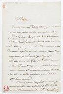 [Lettre autographe signée de Paul Barroilhet à Madame (?) (sans lieu ni date)] (manuscrit autographe)