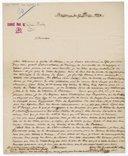 [Lettre autographe signée de Jean-Baptiste Blache à Pierre Gardel, Bordeaux, 27 février 1824] (manuscrit autographe)