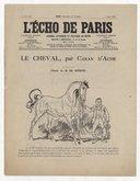 Le cheval / par Caran d'Ache ; texte de M. de Buffon