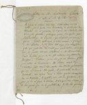 [Copie d'une lettre de Gluck à du Roullet] (copie manuscrite)