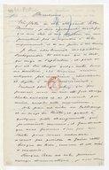 [Copie d'une lettre de Gluck à Valadier, 1er mai 1785] (copie manuscrite)