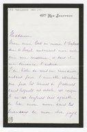 [Lettre autographe signée de Léon Boellmann à Louise Schwab, Paris, 13 avril 1891] (manuscrit autographe)