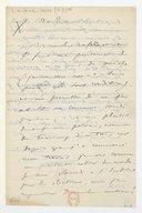 [Lettre de Camille Saint-Saëns à Théodore Dubois, 20 juillet 1905] (manuscrit autographe)