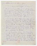 [Lettre de Camille Saint-Saëns à Théodore Dubois, Alexandrie, 3 décembre 1902] (manuscrit autographe)