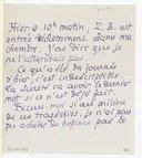 Lettre de Pierre Louys à Claude Debussy, [Paris, juin 1899] (manuscrit autographe)