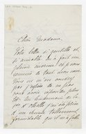 [Lettre autographe signée de Rose Caron, cantatrice, à Madame A. Duvernoy (?), 23 octobre 1894] (manuscrit autographe)