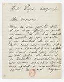 [Lettre autographe signée de Rose Caron, cantatrice, à Madame A. Duvernoy (?), Kreuznach, 26 juillet 1896] (manuscrit autographe)