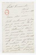 [Lettre autographe signée de Rose Caron, cantatrice, à Alphonse Duvernoy (?), Néris, 27 juin 1898] (manuscrit autographe)