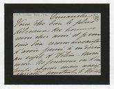 [Lettre autographe signée de Rose Caron, cantatrice, à Charles Lefebvre (sans lieu ni date)] (manuscrit autographe)