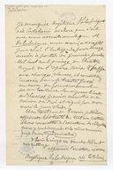 """[Certificat : ... """"avec mon assentiment Monsieur Valabregue, mon mari, a accepté pour moi l'entreprise du Théâtre Royal de l'Opera seria e buffa"""", Paris, 26 décembre 1814] (manuscrit autographe)"""