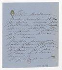[1 lettre de Madeleine Lemaire à Madame Massenet] (manuscrit autographe)
