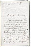 [Lettre de René Baillot à Monsieur P. J. G. Zimmermann, 14 décembre 1850] (manuscrit autographe)