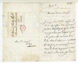 [Lettre de Pierre Marie François de Salles Baillot à Monsieur Pleyel, 23 Juillet 1814] (manuscrit autographe)