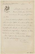[1 lettre d'Henri Cain à Jules Massenet (sans date)] (manuscrit autographe)