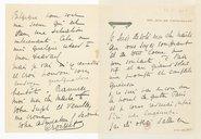 [1 lettre autographe signée de Francis de Croisset à Jules Massenet, 23 juin 1902] (manuscrit autographe)
