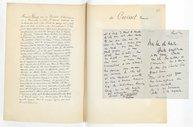 [1 lettre autographe signée de Francis de Croisset à Jules Massenet (sans date)] (manuscrit autographe)