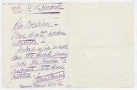 [Lettre autographe signée d'Edmond Clément, de l'Opéra-Comique à Gaston Calmette (sans lieu), 5 juillet 1908] (manuscrit autographe)
