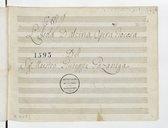 L'isola D'alcina Opera Giocosa // Del // Sig. Maestro Giuseppe Gazzaniga