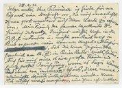 Fonds Henry Prunières. Correspondance reçue par Henry Prunières. Correspondants A-B. Berg, Alban. Lettre originale