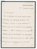 [Lettre autographe signée de Léon Bonnat à Jules Massenet, Paris, 16 juillet 1900] (manuscrit autographe)