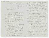 [Lettre autographe signée d'Eugène Damaré à Charles Malherbe, Enghien, 2 juillet 1901] (manuscrit autographe)