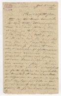[Lettre autographe signée de Damoreau-Cinti à son père, Gand, 18 décembre 1827] (manuscrit autographe)