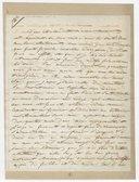 [Lettre autographe signée de Damoreau-Cinti (sans lieu), 16 novembre 1827] (manuscrit autographe)