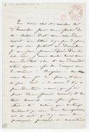 [Lettre autographe signée de Damoreau-Cinti à d'Henouville (sans lieu ni date)] (manuscrit autographe)