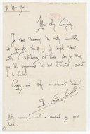 [Lettre autographe signée de B. Crocé-Spinelli à Charles Malherbe, 16 mai 1902] (manuscrit autographe)