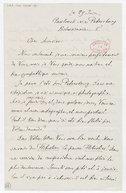 [Lettre autographe signée de César Cui à Charles Malherbe, Pawlousk, 29 juin (année?)] (manuscrit autographe)