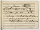Didone // Abbandonata // Dramma per musica // Del signor Gio. Adolfo Hasse, d° il Sassone // Maestro di cappella di S. M.// del Ré di Polonia, Elettore di Sassonia