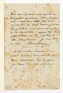 [Lettre de Luigi Cherubini à Monsieur Reicha, Avril ? Mai ? 1809] (manuscrit autographe)
