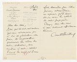 [Lettre de Camille Chevillard à l'Association pour l'expansion artistique, 17 juillet 1919] (manuscrit autographe)