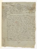 [Traité signé, 29 mars 1792] (manuscrit autographe)
