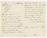 [Lettre de Camille Chevillard à Alfred Cortot, Paris, 14 septembre 1916] (manuscrit autographe)