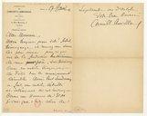 [Lettre de Camille Chevillard à Raymond Bouyer, Paris, 17 juin 1902] (manuscrit autographe)