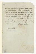 [Lettre de Luigi Cherubini à Monsieur Reicha, Mardi 2 Mai 1809] (manuscrit autographe)