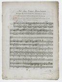 Air des Faux mendians.... Paroles de Lebrun-Tossa, arrangé pour piano ou harpe par J. B. Auvray...