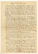[Lettre de Gustave Doret à Isidore Philipp, Lutry, 30 mars 1942]
