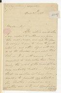 [Lettre de William Linley à Monsieur xxx, 25 avril 1799]